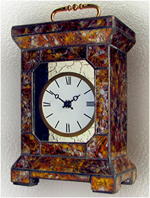 Stained Glass Clock Nr. 4745, Tiffany technique