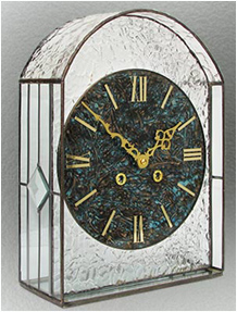 Stained Glass Clock Nr. 5120, Tiffany technique
