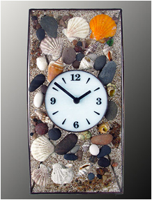 Beach Wall Clock No. 6630
