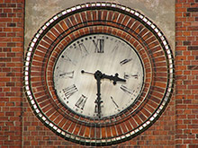 Latvian Arts Academy Facade Clock