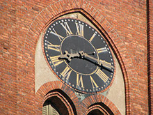 New St. Gertrude Lutheran Church Tower Clock