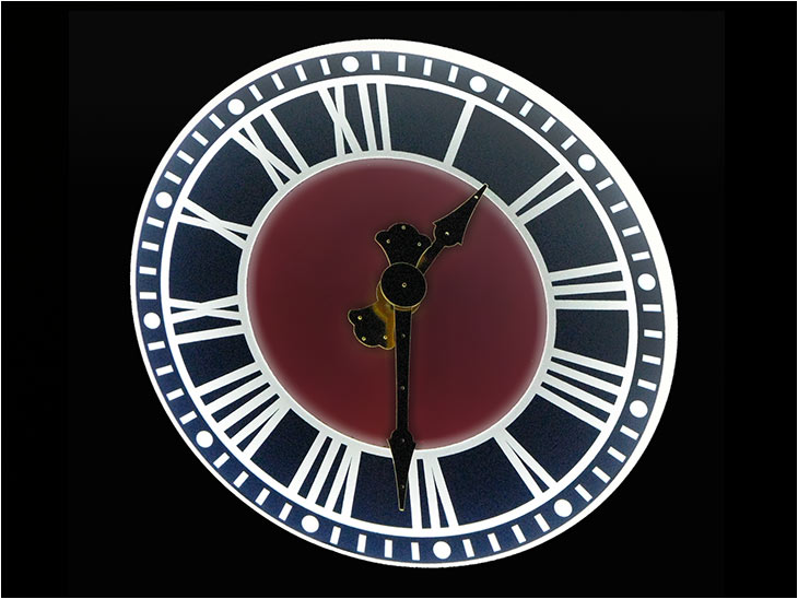 Clock Dial Illumination