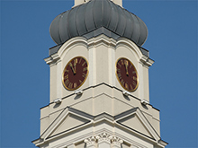 Riga Town Hall Tower Clock