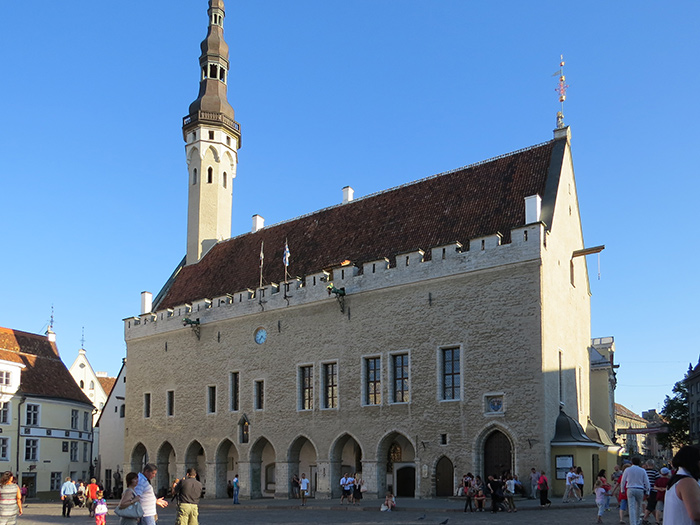 Town Hall, Facade Clock, Tallinn, Estonia