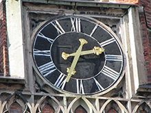 Old St. Gertrude's Church Clock