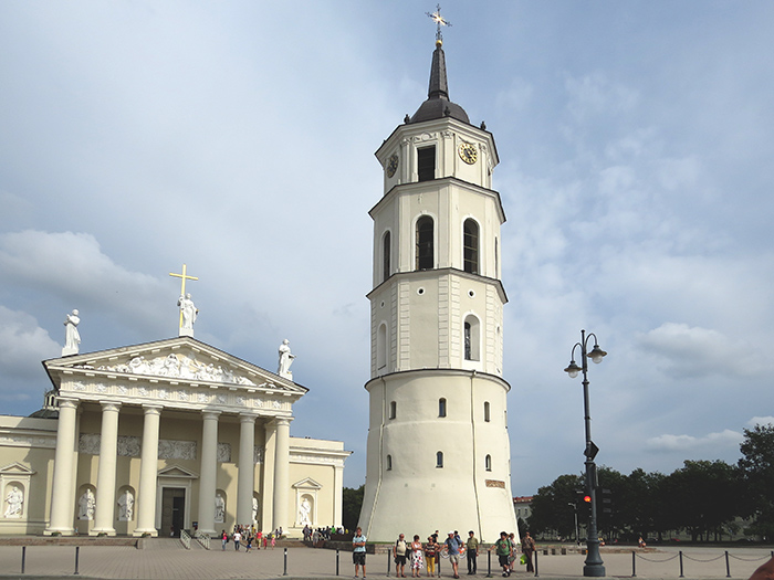 Tower Clock, Vilnius, Lithuania